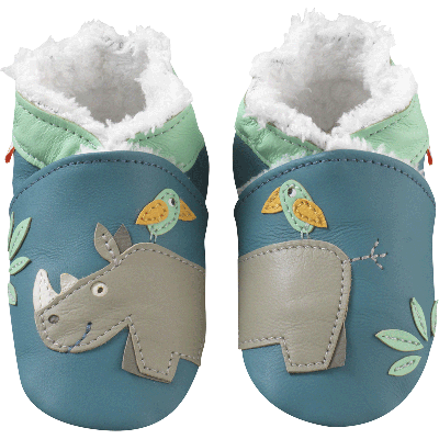 chaussons-bebe-cuir-souple-fourres-rhino-face